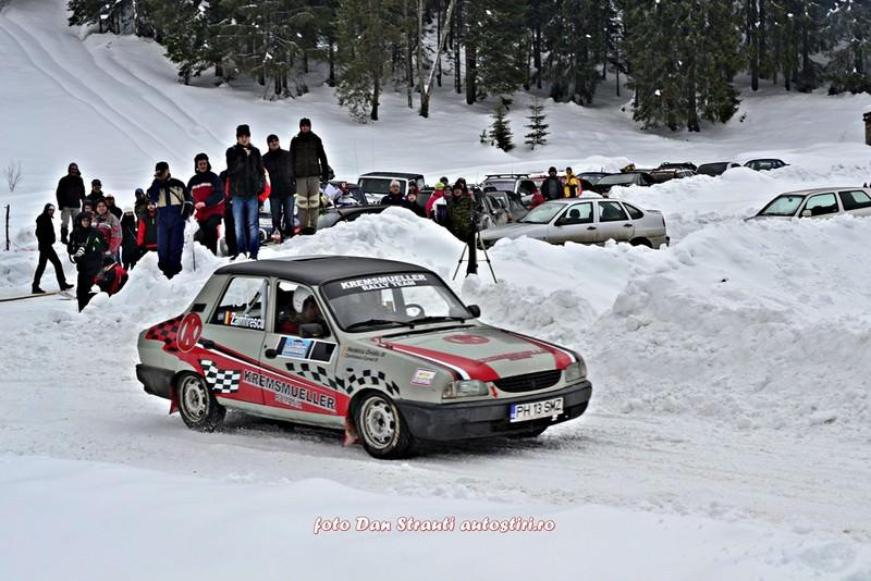 """Debut la Covasna Winter Rally Kremsmueller: """"A fost o mare provocare pentru echipajul nostru"""""""