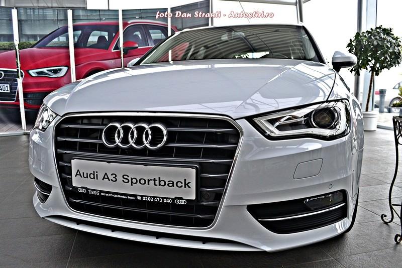 Test drive: Audi A3 Sportback, pasiune si pragmatism