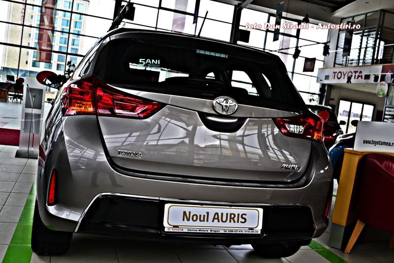 Test drive: noul Toyota Auris, calitate şi siguranţă