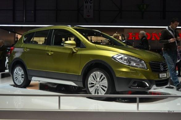 Geneva 2013: premiera mondială a noului crossover SX4
