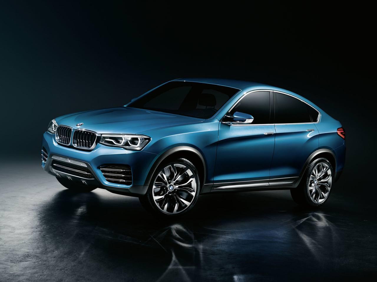 BMW X4 Concept – primele imagini!