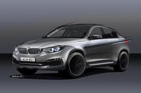 Noua generatie BMW X6, mai mare, mai agresiva!