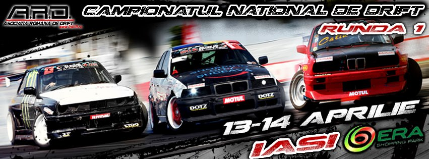 Campionatul National de Drift la ERA Shopping Park Iasi