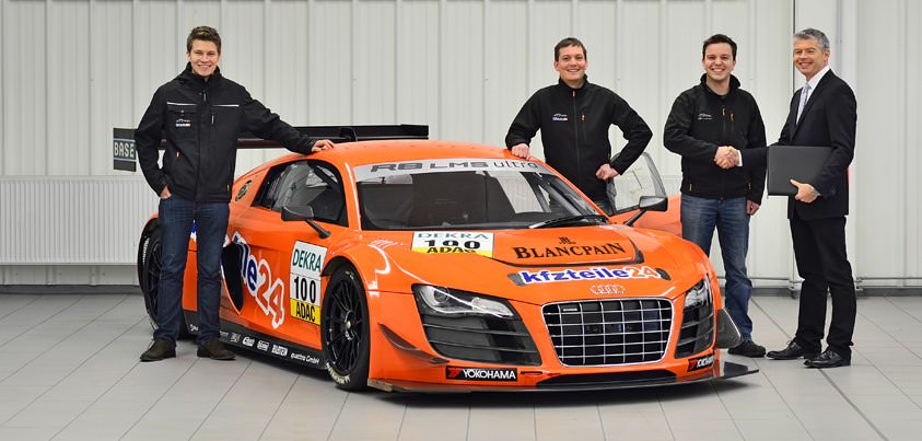 Team MS RACING trece la Audi