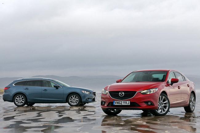Noua Mazda6 a fost distinsă cu premiul 2013 red dot