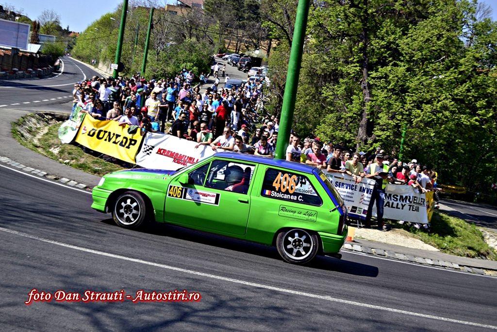 Cristian Stoicanea Cismas, debut in CNVC Dunlop pe podium