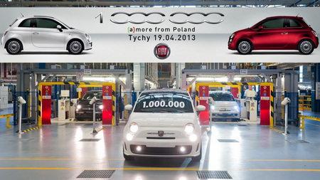 Peste 1.000.000 de unitati Fiat 500 produse in Polonia
