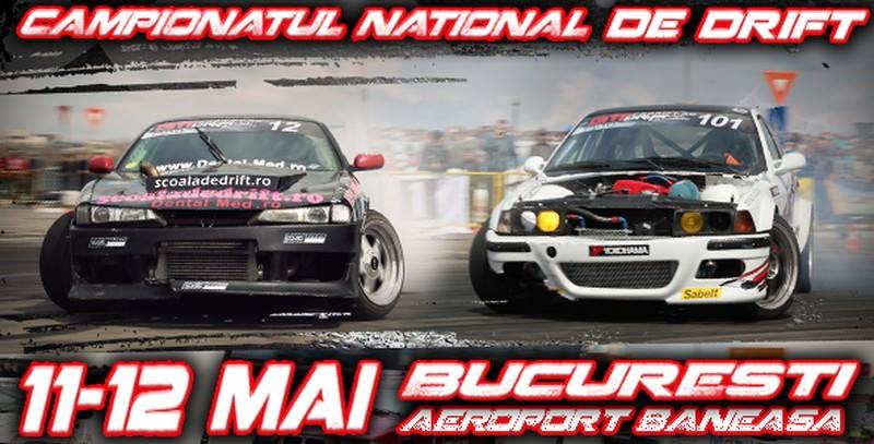 GTT Drift Championship 2013: peste 40 de piloți vor lua startul la cea de-a doua etapă