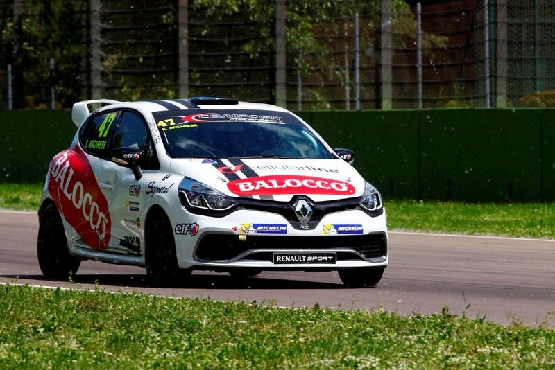 Salvatore Arcarese, experiente pozitive la prima etapa din Eurocup Clio