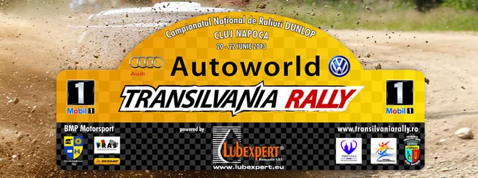 Conferinta de presa, Autoworld Transilvania Rally powered by Lubexpert
