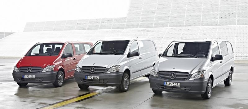 Mercedes-Benz Vito: confort, siguranţă şi flexibilitate în orice călătorie