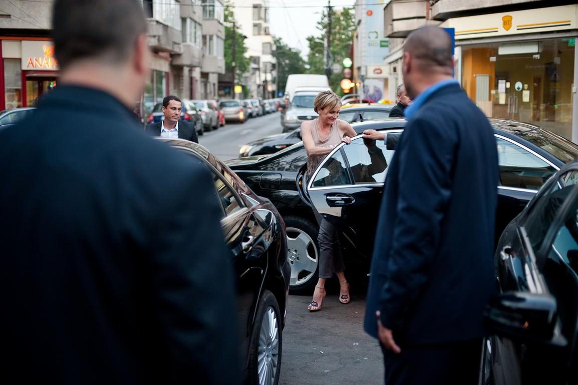 Patricia Kaas şi staff-ul său, deplasări confortabile la bordul autovehiculelor Mercedes-Benz