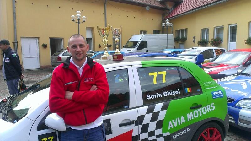 Sorin Ghisoi debuteaza in 2013 alaturi de Avia Motors & Alto Syncro
