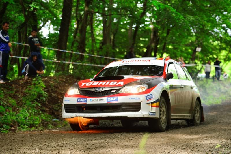 Adrian Drăgan și Vali Brădățeanu abandonează în prima zi a Delta Rally 2013
