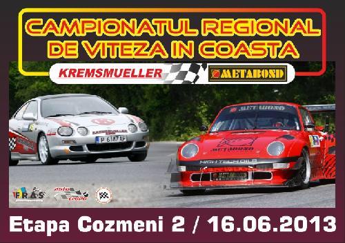 Avancronica Campionatul Regional de Viteza in Coasta Metabond Cozmeni 2