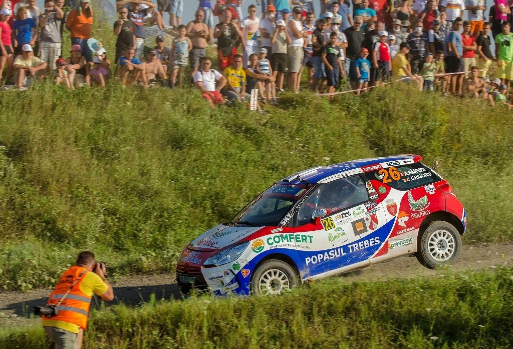 Raliul Sibiului: doua podiumuri importante pentru Bacau Rally Team