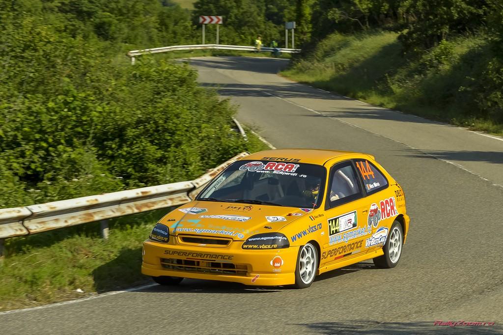 Cupa Resita: Alex Mirea doboara recordul pentru masinile cu motoare pana in 1,6 litri