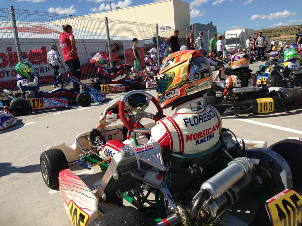 Petrut Florescu revine in Campionatul Italian de Karting