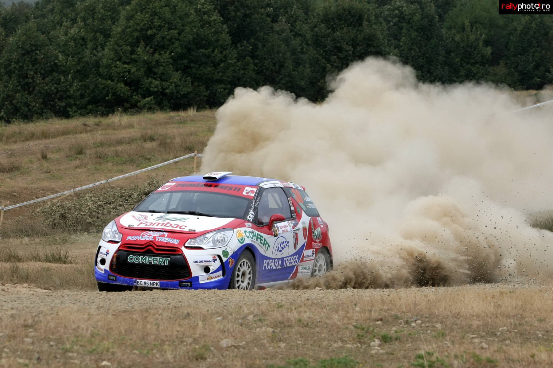 Zeita Fortuna nu a fost de partea Bacau Rally Team la Arad