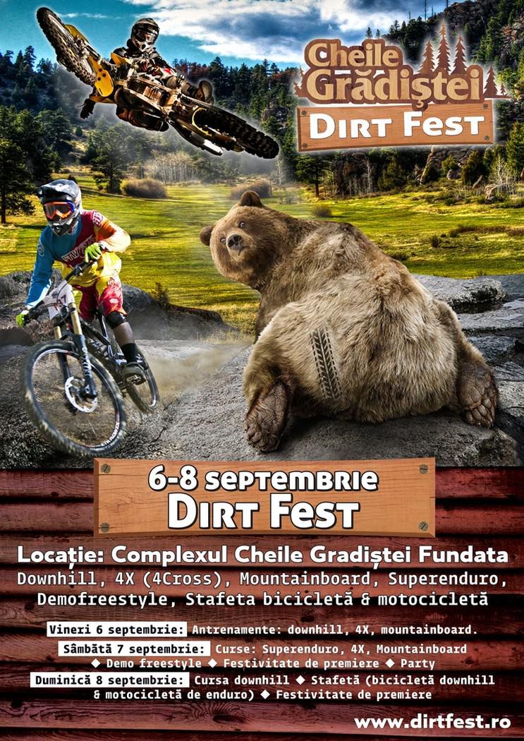 Cheile Grădiștei Dirt Fest, festival dedicat sporturilor extreme