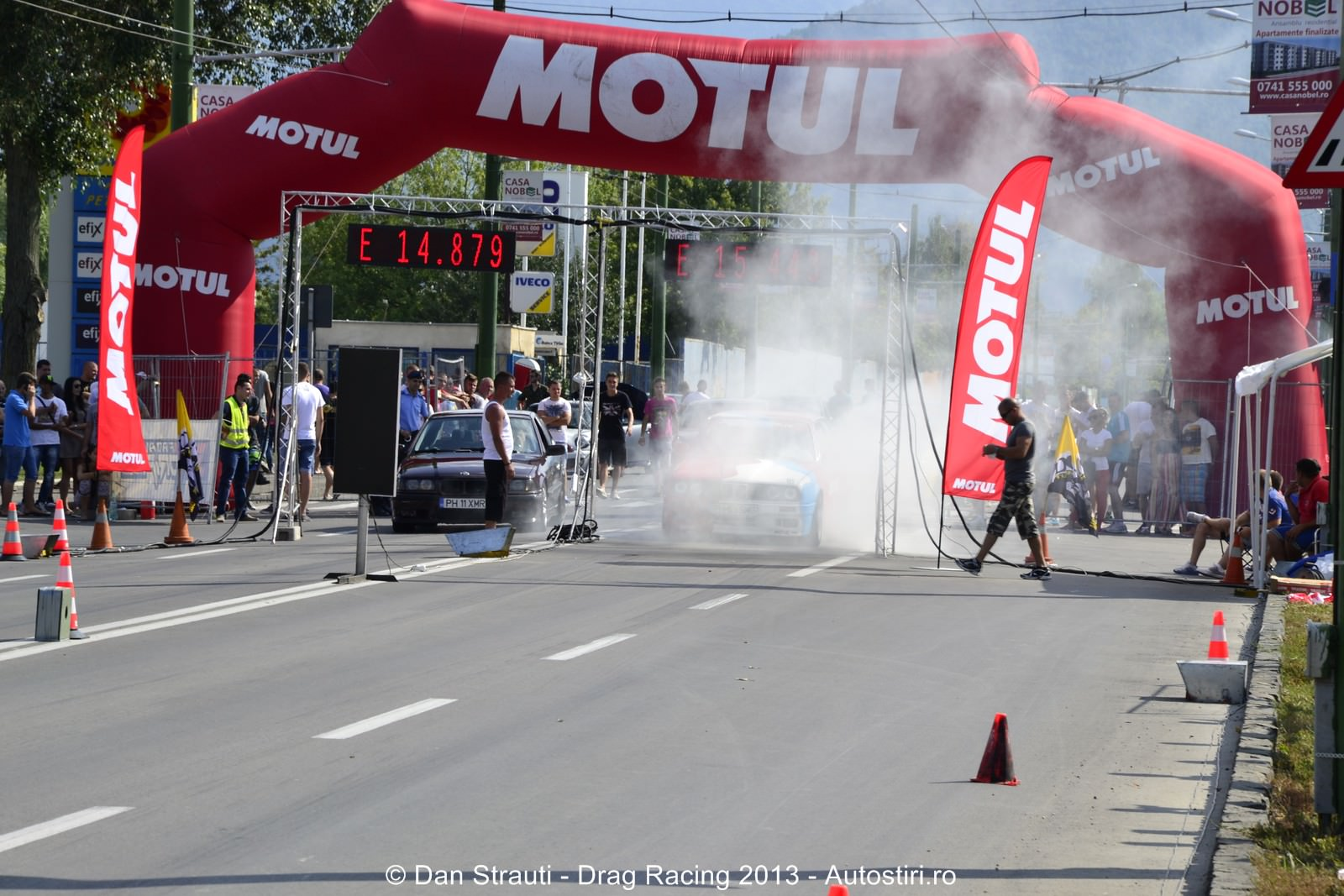Brasov: Start in a 3-a etapa de Drag Racing