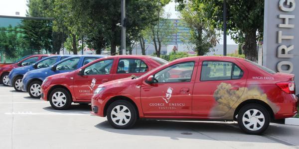 """Dacia, maşina oficială a festivalului """"George Enescu"""""""