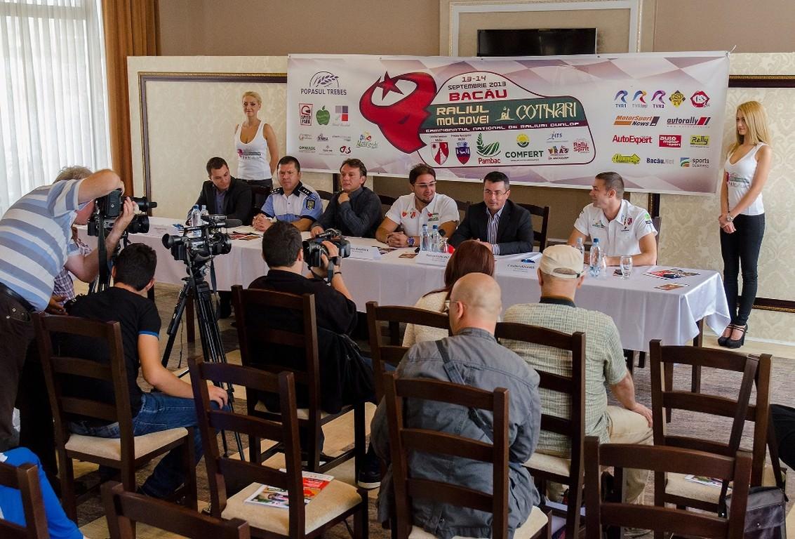 Raliul Moldovei Cotnari Bacau – Conferinta de presa