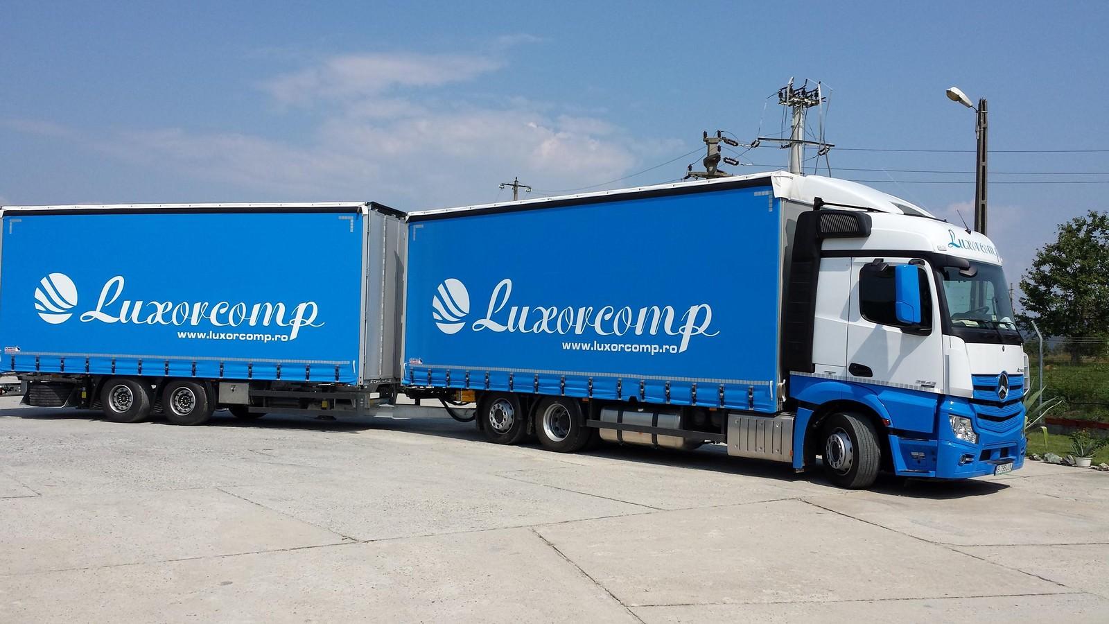 Mercedes-Benz România a livrat 25 de camioane companiei de transport Luxorcomp