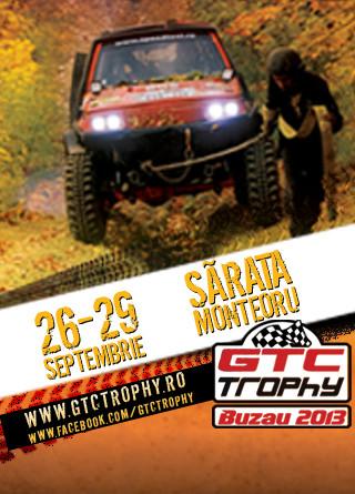 GTC Trophy 2013, Buzau devine capitala off-road-ului romanesc