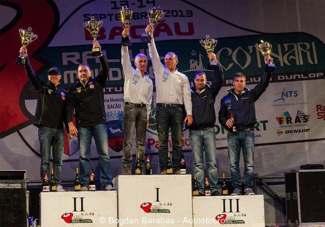 Francois Delecour si Dominique Savignoni au devenit campioni nationali