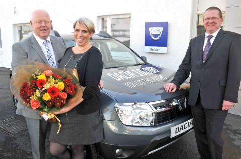 Flash News. 11.500 de modele Dacia vandute in Marea Britanie!
