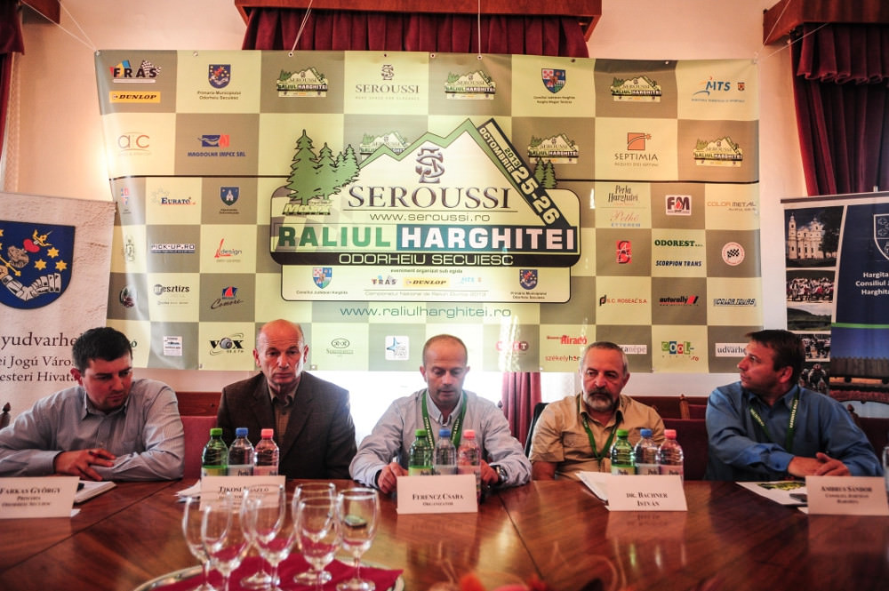 Conferinta de presa Raliul Harghitei Seroussi 2013