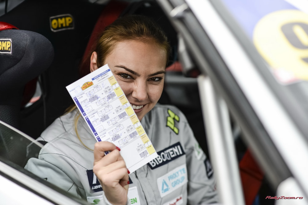 Echipajul Adrian Grigore – Roxana Ionescu, o experienta extraordinara la Raliul Iasului