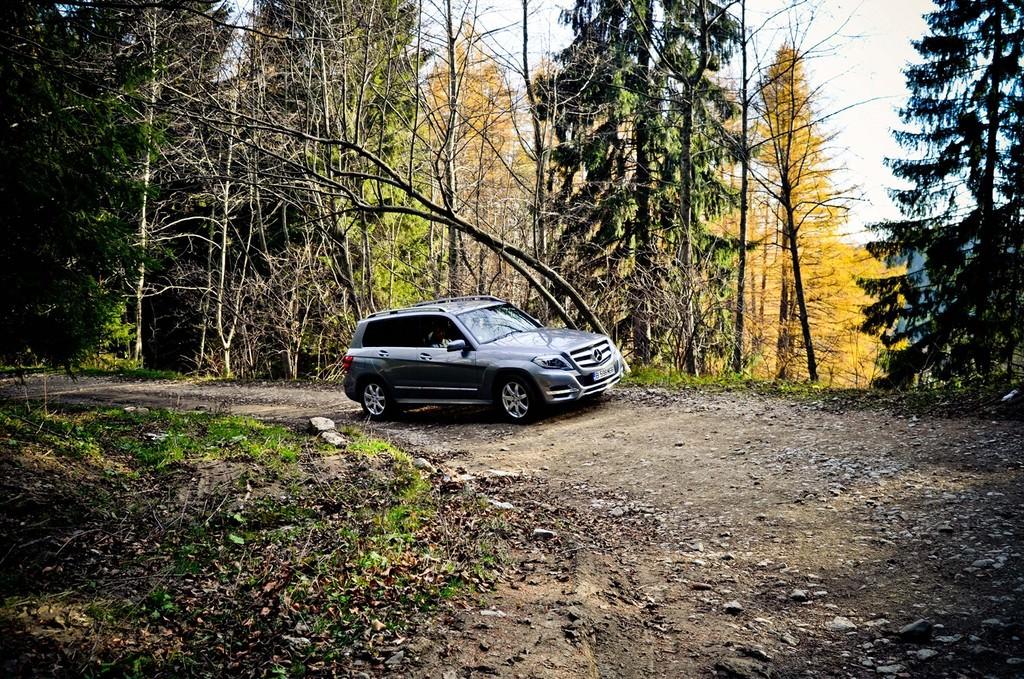 Test drive: Mercedes-Benz – Aventura GLK, in compania lui Catalin Stefanescu