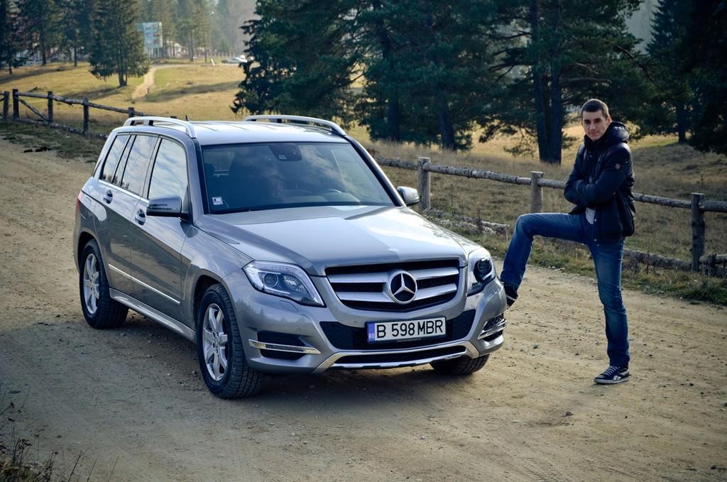 Test drive mercedes benz aventura glk in compania lui for Mercedes benz aventura