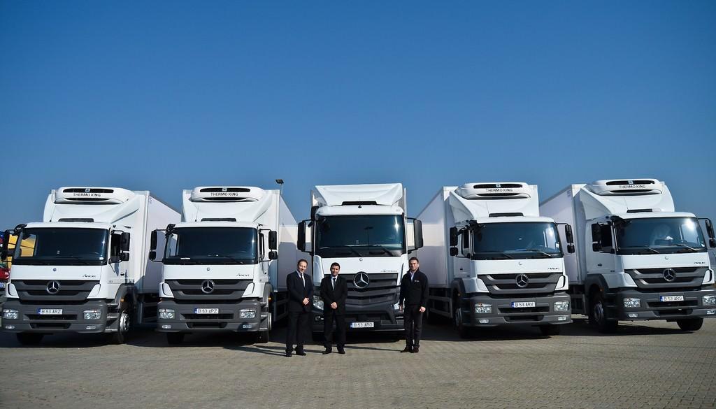 Mercedes-Benz România completează flota Mediplus