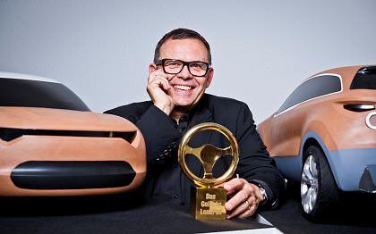 """Peter Schreyer, castigatorul premiului onorific """"Volanul de aur"""""""