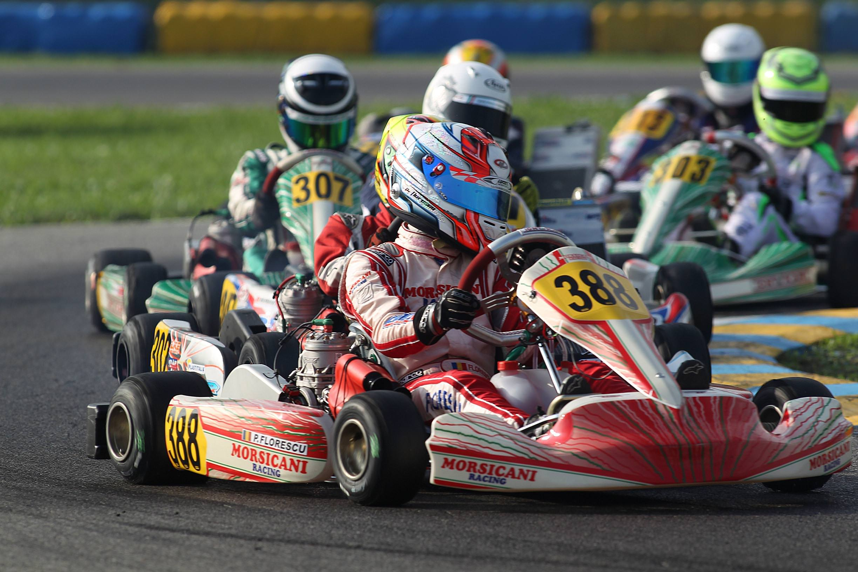 Petrut Florescu ataca Mondialul de karting
