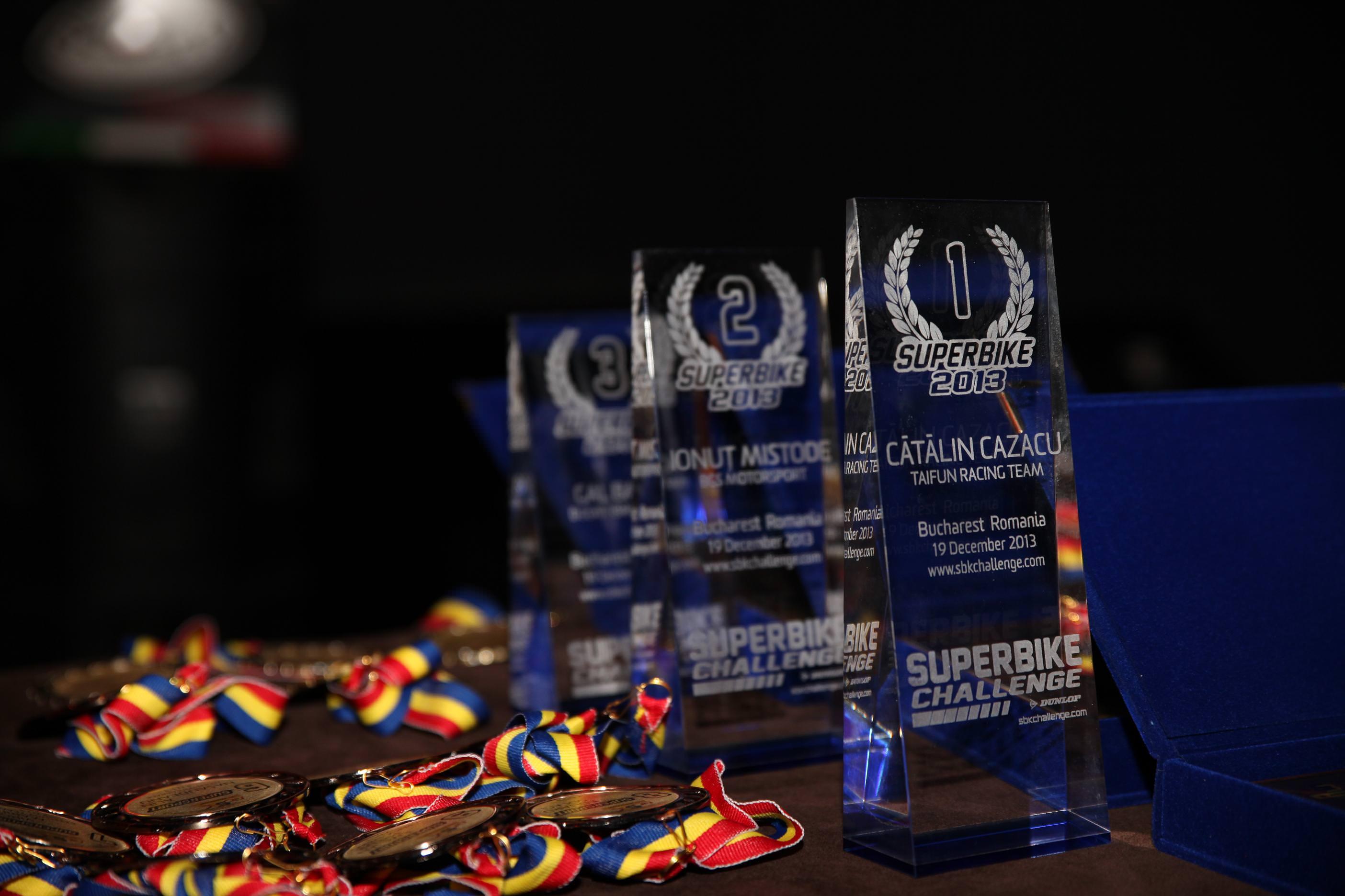 Cupa DUNLOP Romanian Superbike 2013 si-a premiat castigatorii
