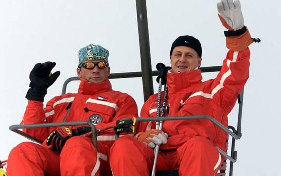 Michael Schumacher, rănit într-un accident de schi