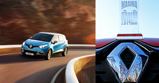 Renault Captur, Masina Anului 2014 in Romania