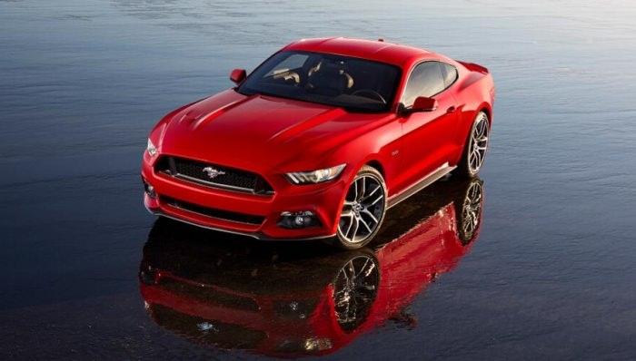 Ford Mustang în Europa