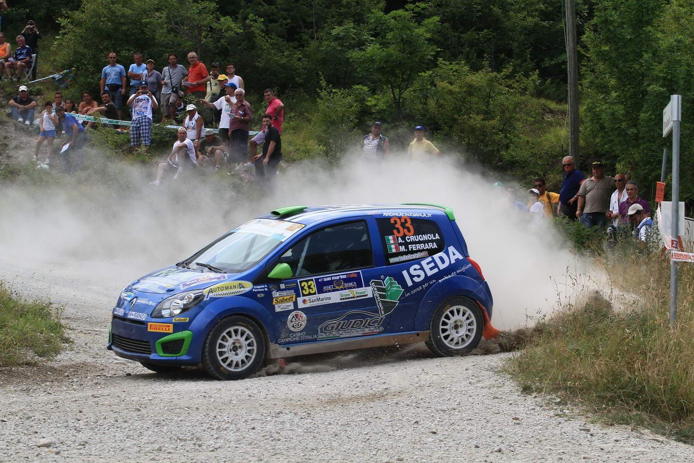 Andrea Crugnola ataca europeanul de raliuri cu echipa Napoca Rally Academy