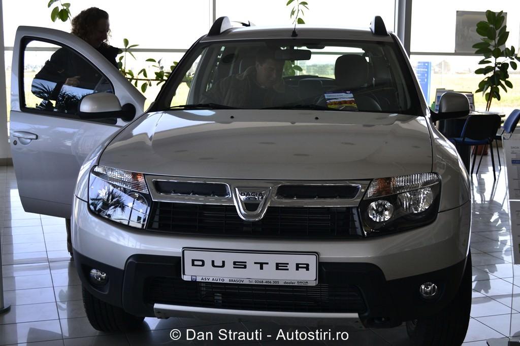 Duster, locul 4 in 2013 pe piata din Rusia