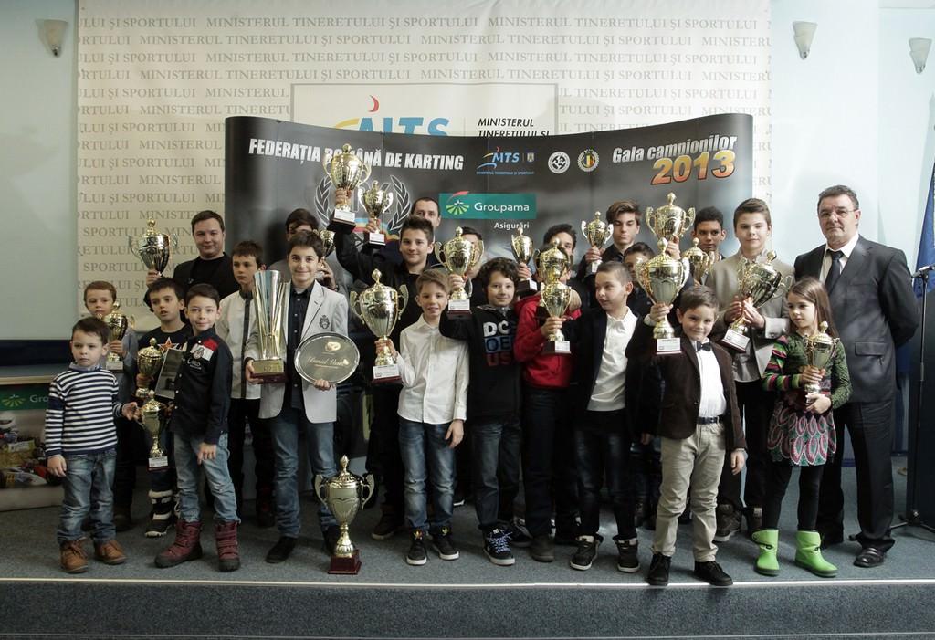Federatia Romana de Karting si-a premiat campionii din 2013