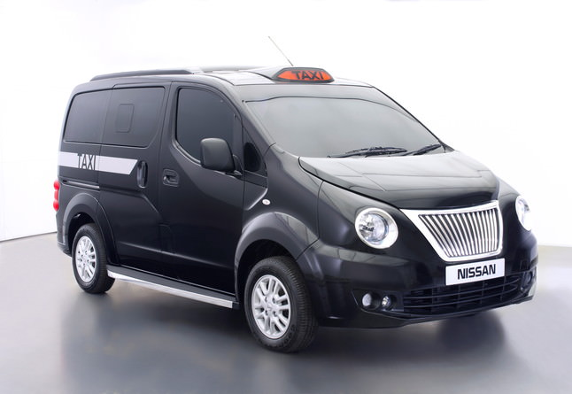 Nissan a prezentat propria sa versiune a emblematicului taxi negru londonez