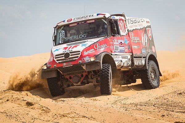 Raliul Dakar 2014: Tatra, in cautarea victoriei