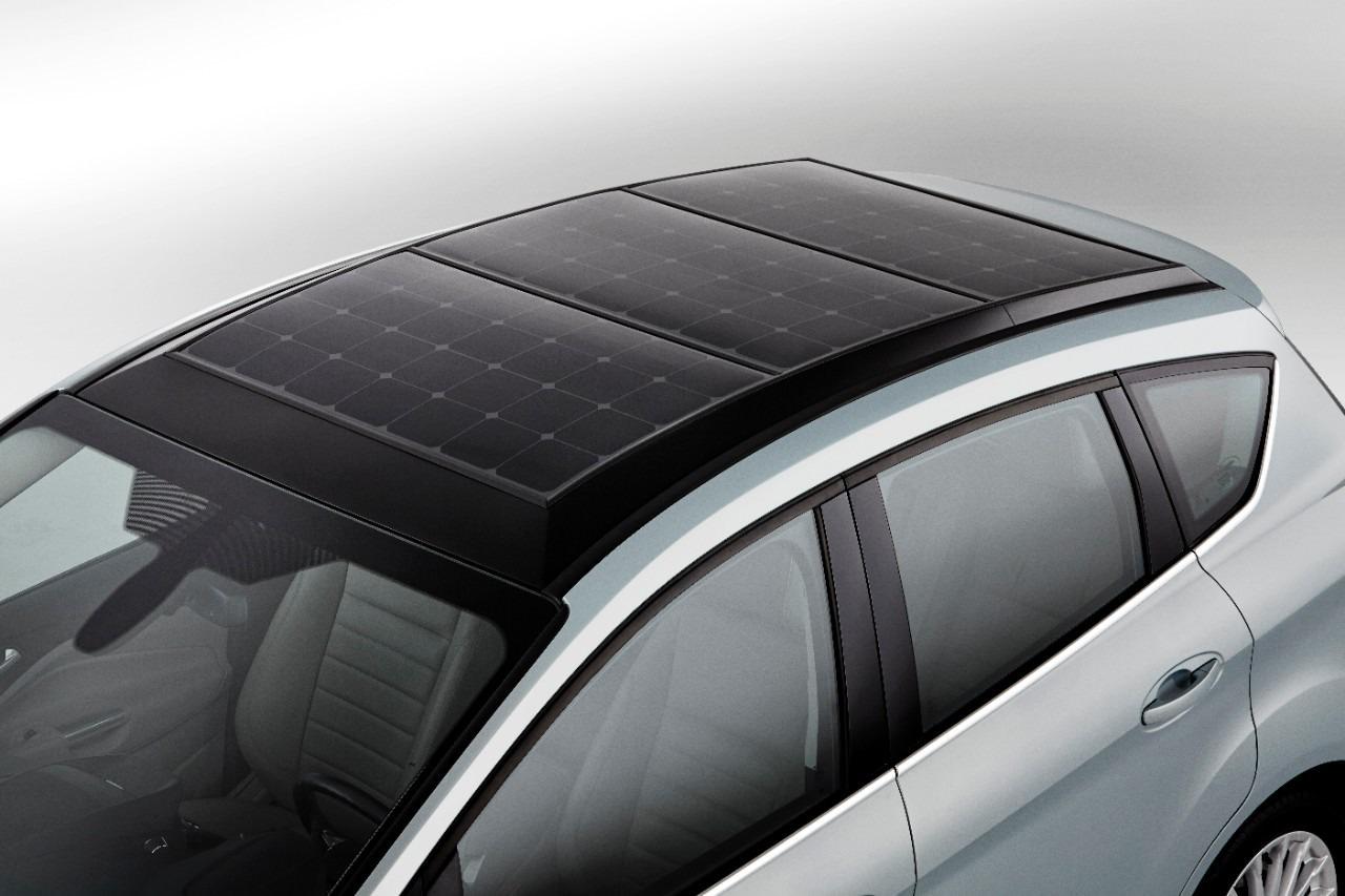 Conceptul Ford C-Max Solar Energi prezentat la Las Vegas