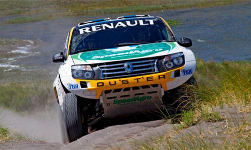 Raliul Dakar 2014: 2 Duster la start