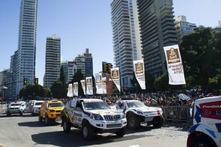 Raliul Dakar 2014: 431 de vehicule la start